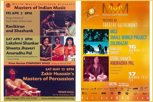 Anuradha Pal - Female Tabla player | Awards | Festivals