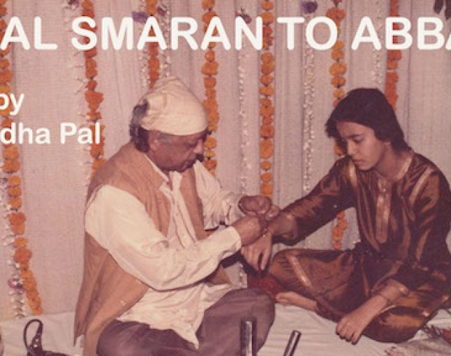 Taal Smaran to Abbaji by Anuradha Pal