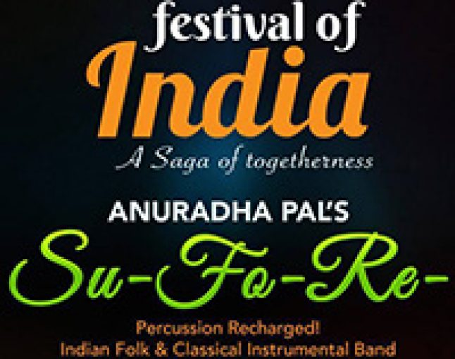 Anuradha Pal's SuFoRe at Festival of India, Qatar