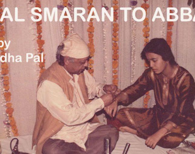 Taal Smaran to Abbaji by Anuradha Pal