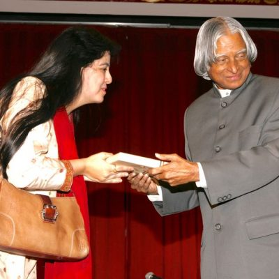 Appreciated by Dr. APJ Abdul Kalam after performing for him at Rashtrapati Bhavan