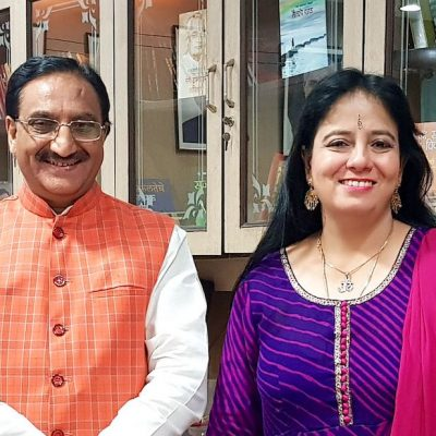with Dr. Ramesh Pokhriyal Nishank